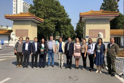 Third work meeting in China: Nanjing and Fuzhou Universities, October 2018